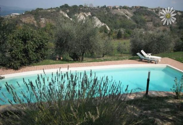 Panoramic farmhouse with pool holiday let near orvieto for Hotels in orvieto with swimming pool